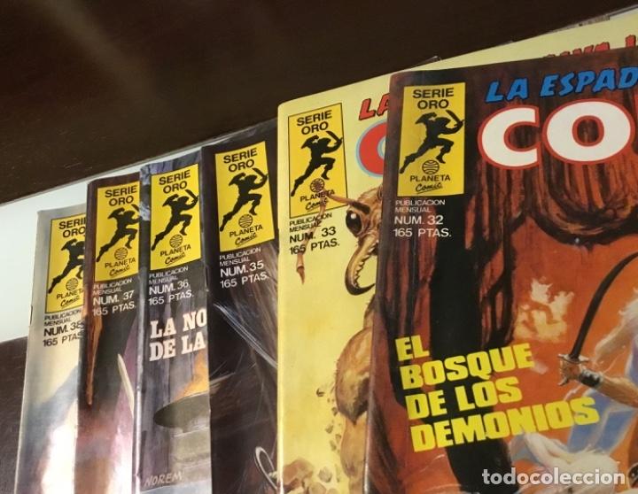 Cómics: Lote Conan la espada salvaje 1ºedicion 35 comics mas poster con el numero 1 - Foto 5 - 177760872