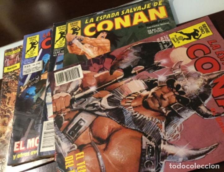 Cómics: Lote Conan la espada salvaje 1ºedicion 35 comics mas poster con el numero 1 - Foto 6 - 177760872