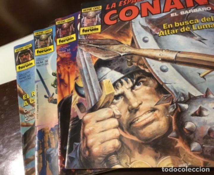 Cómics: Lote Conan la espada salvaje 1ºedicion 35 comics mas poster con el numero 1 - Foto 7 - 177760872