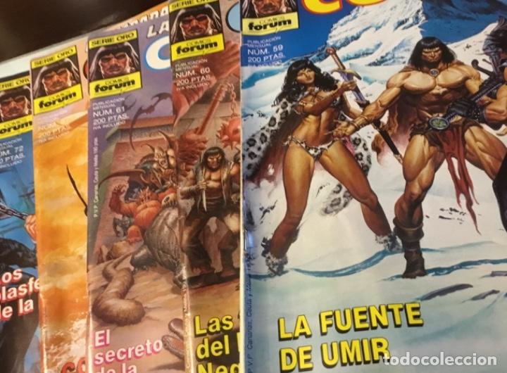 Cómics: Lote Conan la espada salvaje 1ºedicion 35 comics mas poster con el numero 1 - Foto 8 - 177760872
