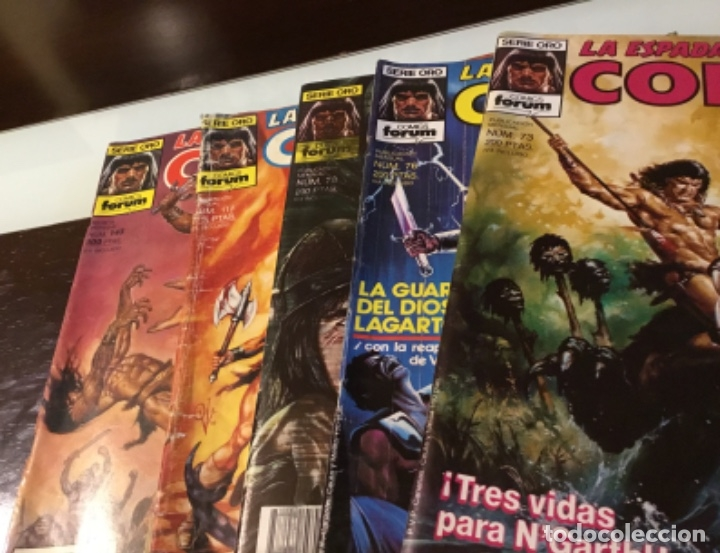 Cómics: Lote Conan la espada salvaje 1ºedicion 35 comics mas poster con el numero 1 - Foto 9 - 177760872