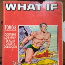 Cómics: WHAT IF TOMO FORUM NºS 36 A 40. Lote 177861287