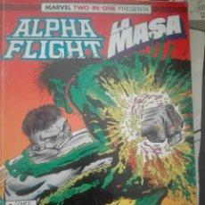 Comics : ALPHA FLIGHT LA MASA 51-52-53 #LL. Lote 177865539