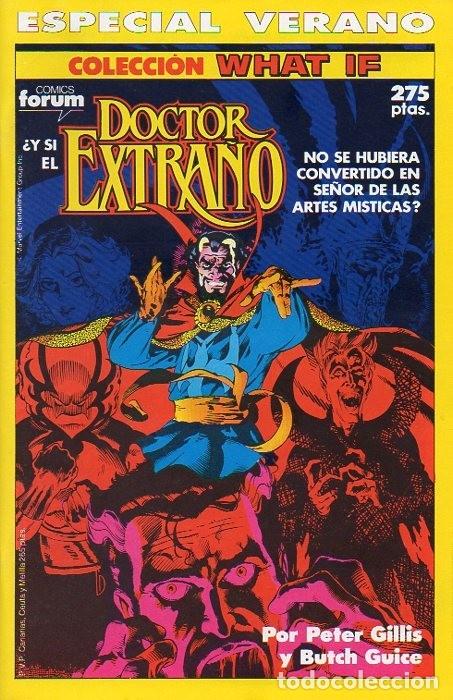 WHAT IF? ESPECIAL VERANO 1990 - FORUM (Tebeos y Comics - Forum - Vengadores)