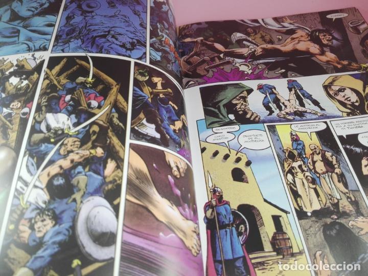 Cómics: COMIC-EL CUERNO DE AZOTH-CONAN EL BÁRBARO-ROY THOMAS & MICHAEL DOCHERTY-MARVEL COMICS-FORUM-1995 - Foto 9 - 177962483