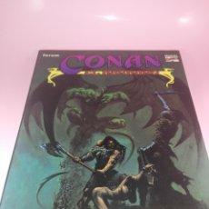 Cómics: COMIC-EL CUERNO DE AZOTH-CONAN EL BÁRBARO-ROY THOMAS & MICHAEL DOCHERTY-MARVEL COMICS-FORUM-1995. Lote 177962483