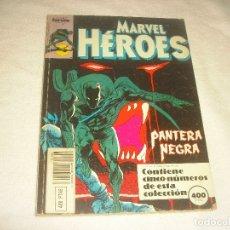 Cómics: MARVEL HEROES. FORUM, RETAPADO CONTIENE 5 NUMEROS, DEL 45 AL 49.. Lote 177985254
