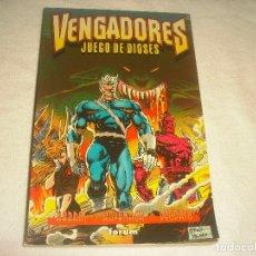Cómics: VENGADORES, JUEGO DE DIOSES. 1996.HARRAS, KAVANAGH Y DEODATO.. Lote 177985905