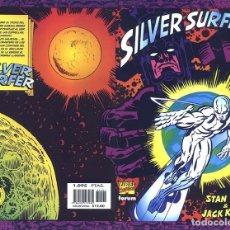 Cómics: SILVER SURFER STAN LEE & JACK KIRBY NOVELA GRÁFICA RUSTICA 15 AÑOS FORUM. Lote 178024778
