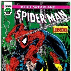 Cómics: SPIDERMAN - TODD MCFARLANE - FORUM - Nº 6. Lote 178151420