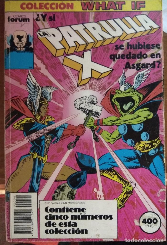 WHAT IF TOMO FORUM NºS 16 A 19 (Tebeos y Comics - Forum - Retapados)