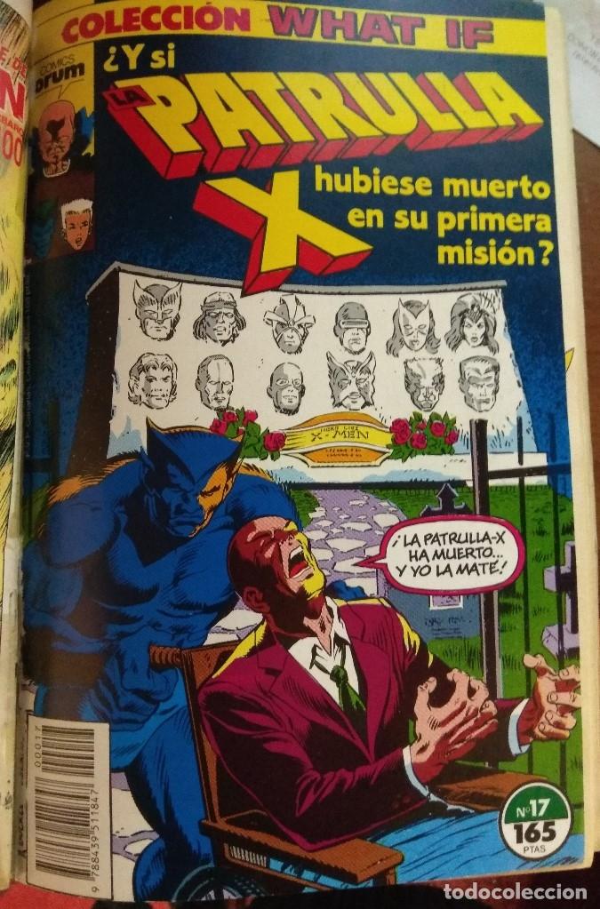 Cómics: WHAT IF Tomo Forum Nºs 16 a 19 - Foto 3 - 178164326