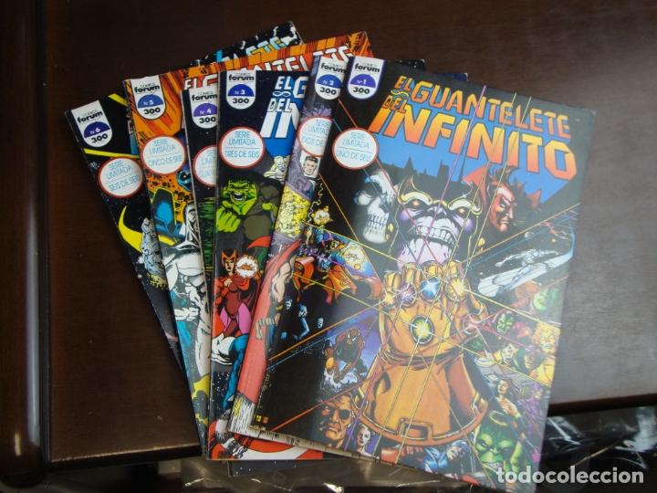 EL GUANTELETE DEL INFINITO 6 VOLUMENES COMPLETA MUY BUEN ESTADO (Tebeos y Comics - Forum - Otros Forum)