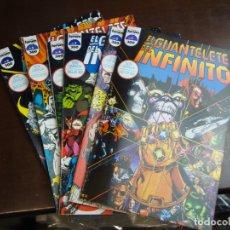Cómics: EL GUANTELETE DEL INFINITO 6 VOLUMENES COMPLETA MUY BUEN ESTADO. Lote 178370191