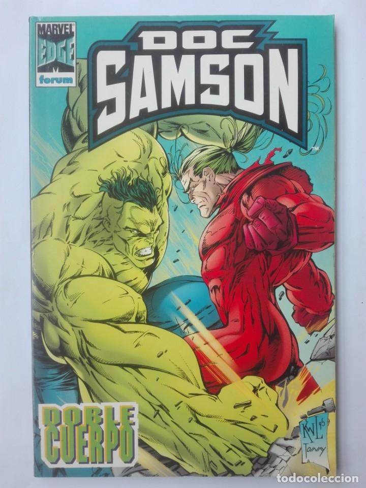 DOC SAMSON DOBLE CUERPO # Y2 (Tebeos y Comics - Forum - Prestiges y Tomos)