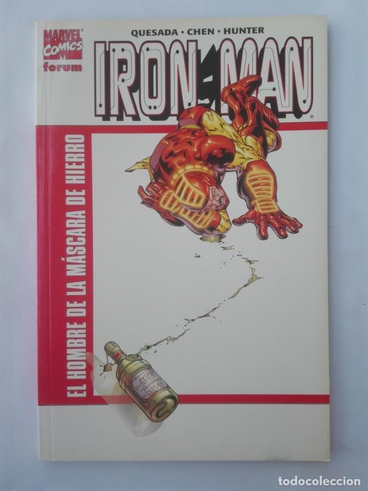 IRON MAN EL HOMBRE DE LA MÁSCARA DE HIERRO # Y3 (Tebeos y Comics - Forum - Prestiges y Tomos)