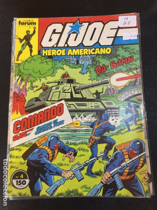 Cómics: FORUM G.J.JOE NUMERO 4 BUEN ESTADO - Foto 1 - 178569943
