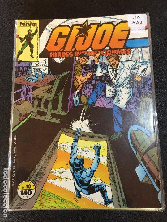 FORUM G.J.JOE NUMERO 10 BUEN ESTADO (Tebeos y Comics - Forum - Otros Forum)