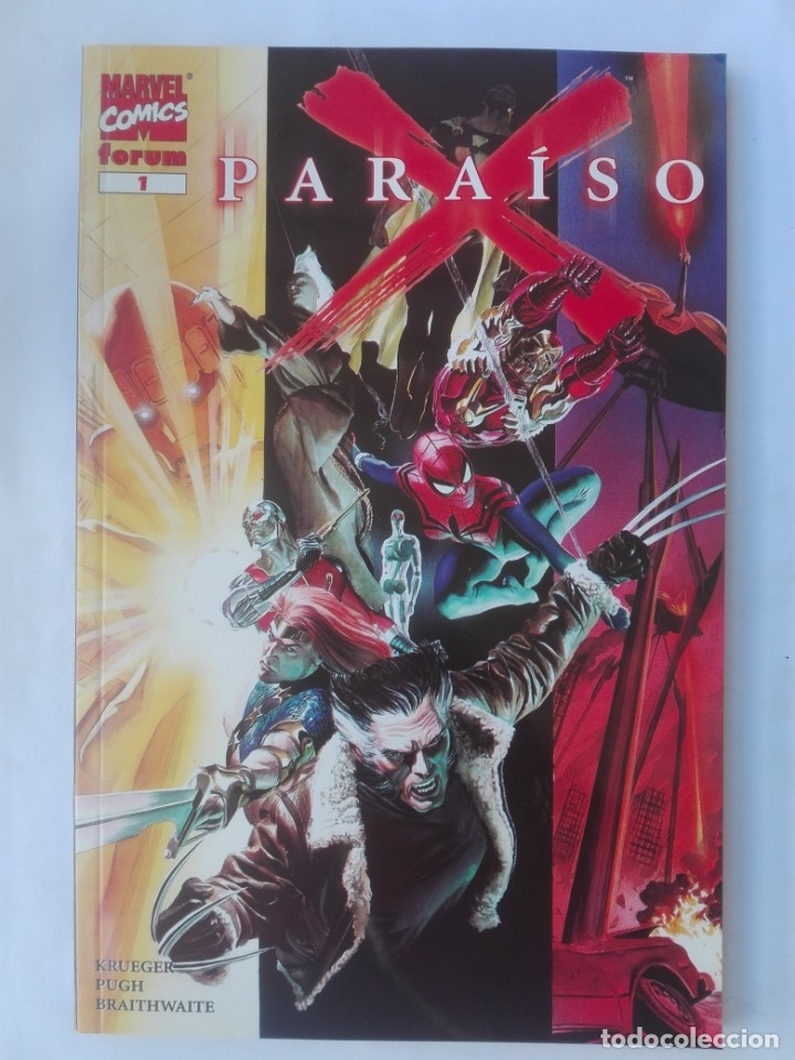 PARAISO X 1# Y3 (Tebeos y Comics - Forum - Prestiges y Tomos)