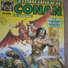 Cómics: CÓNAN,LA CIUDAD DE LOS MAGOS. Lote 178668828