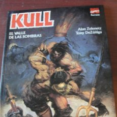 Cómics: KULL EL VALLE DE LAS SOMBRAS / DEZUÑIGA / ZELENETZ - MARVEL 1996 / 1ª ED - DE LIBRERIA SIN USAR !!. Lote 178687763