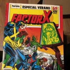 Cómics: FACTOR X - ESPECIAL VERANO 1989 - FORUM. Lote 178733568