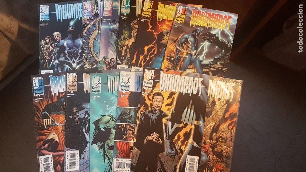 M.K INHUMANOS VOL.1 (COMPLETA 12 NÚMEROS) - FORUM (Tebeos y Comics - Forum - Patrulla X)