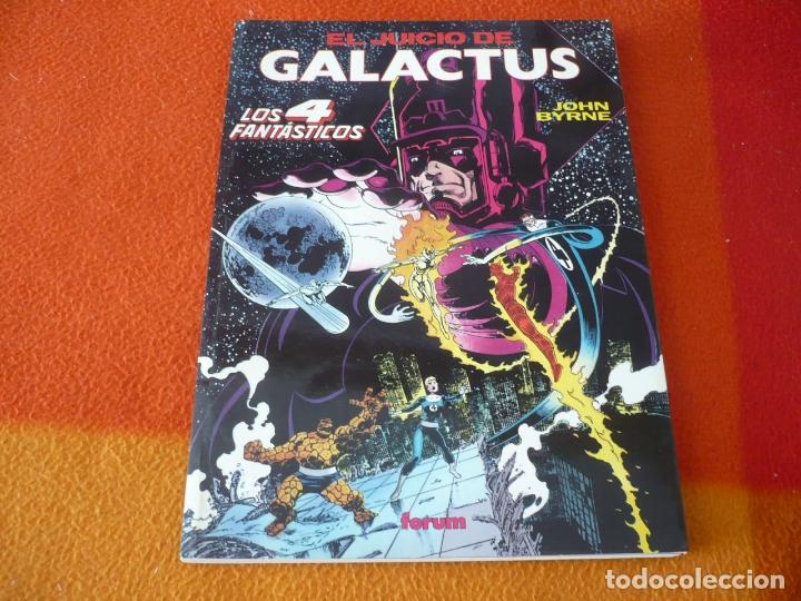 LOS 4 FANTASTICOS EL JUICIO DE GALACTUS ( JOHN BYRNE ) ¡MUY BUEN ESTADO! FORUM OBRAS MAESTRAS 4 (Tebeos y Comics - Forum - 4 Fantásticos)