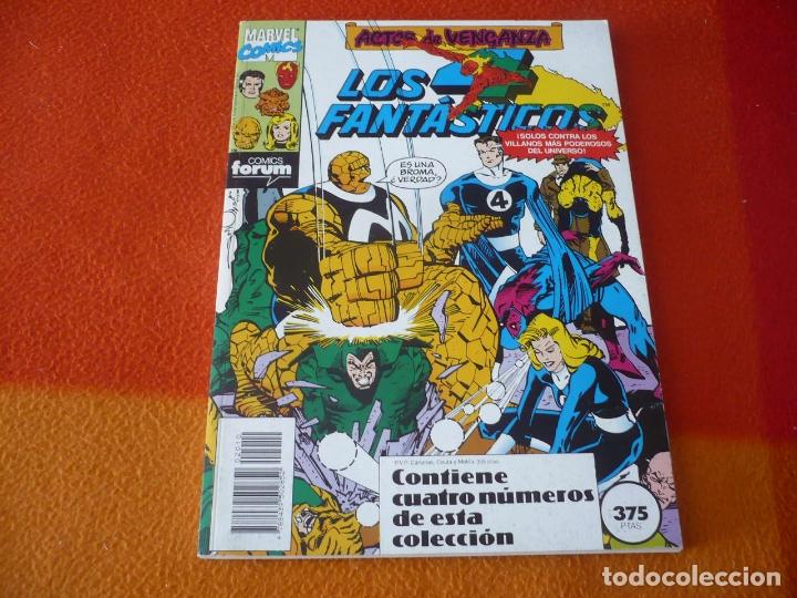 LOS 4 FANTASTICOS VOL. 1 NºS 96 AL 100 RETAPADO ( HARKNESS ) ¡BUEN ESTADO! FORUM MARVEL (Tebeos y Comics - Forum - 4 Fantásticos)