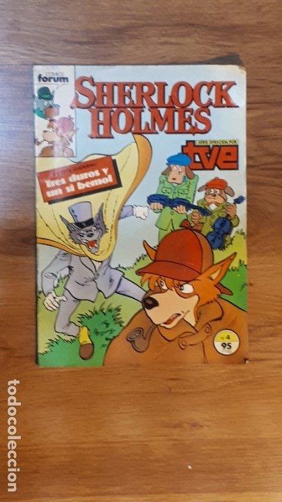 SHERLOCK HOLMES - 4 - FORUM (Tebeos y Comics - Forum - Otros Forum)