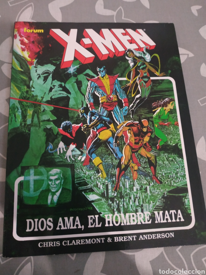 DIOS AMA, EL HOMBRE MATA FORUM X MEN (Tebeos y Comics - Forum - X-Men)