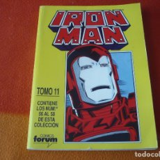 Cómics: IRON MAN VOL. 1 NºS 56 AL 58 RETAPADO 11 CAPITAN MARVEL ¡BUEN ESTADO! TWO IN ONE FORUM. Lote 178922090