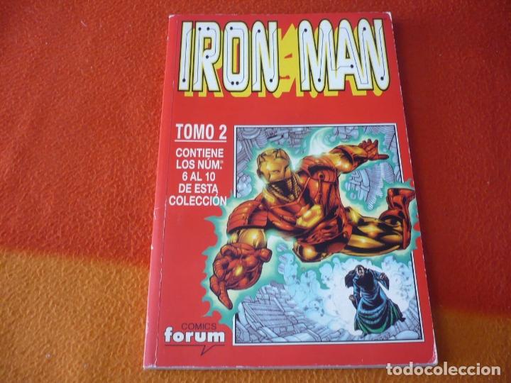 IRON MAN VOL. 4 NºS 6 AL 10 RETAPADO 2 ( BUSIEK ) ¡BUEN ESTADO! MARVEL FORUM (Tebeos y Comics - Forum - Iron Man)