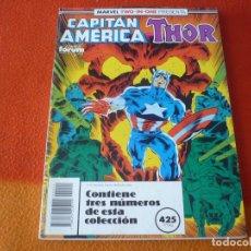 Cómics: CAPITAN AMERICA VOL. 1 NºS 66 AL 68 THOR RETAPADO ( GRUENWALD) ¡BUEN ESTADO! MARVEL TWO IN ONE FORUM. Lote 178926847
