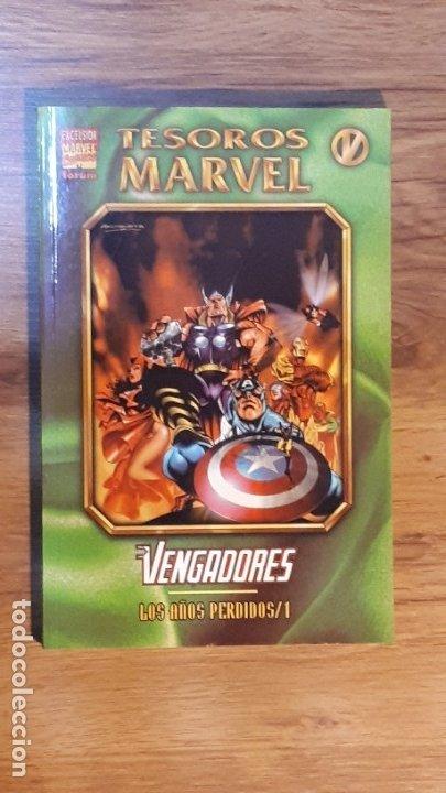 TESOROS MARVEL - VENGADORES 1 - FORUM AVENGERS (Tebeos y Comics - Forum - Prestiges y Tomos)