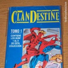 Cómics: CLANDESTINE OBRA COMPLETA 9 Nº EN UN RETAPDO. Lote 178937937