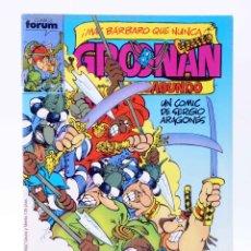 Cómics: GROONAN EL VAGABUNDO 4. EL OJO DE KABULA (SERGIO ARAGONÉS) FORUM, 1987. OFRT. Lote 194912671