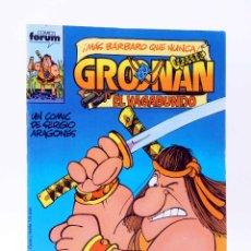 Comics: GROONAN EL VAGABUNDO 1. EL CANTAR DE GROO (SERGIO ARAGONÉS) FORUM, 1987. OFRT. Lote 254650105