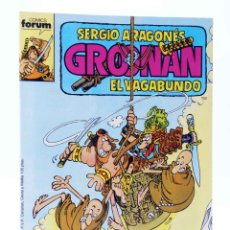 Cómics: GROONAN EL VAGABUNDO 10. MONJES (SERGIO ARAGONÉS) FORUM, 1988. OFRT. Lote 252896745