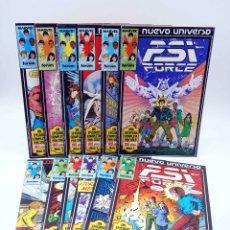 Cómics: PSI-FORCE PSI FORCE 1 A 12. COMPLETA (VVAA) FORUM, 1988. NUEVO UNIVERSO MARVEL. OFRT. Lote 178964000