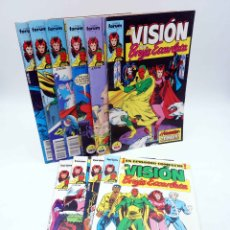 Comics: VISIÓN Y LA BRUJA ESCARLATA. LOTE DE 10 NºS (DE 13) (ENGLEHART / HOWELL) FORUM, 1988. OFRT. Lote 178964010