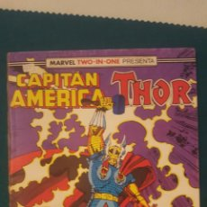 Cómics: TWO-IN-ONE CAPITÁN AMÉRICA - THOR N. 60. Lote 178982351