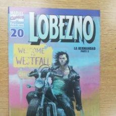 Comics : LOBEZNO VOL 3 #20. Lote 179011216