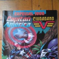 Cómics: CAPITÁN AMÉRICA Y CIUDADANO V. Lote 179054970