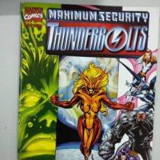 Cómics: MAXIMUM SECURITY THUNDERBOLTS. Lote 179073932
