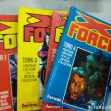 Cómics: X FORCE - FORUM - RETAPADOS 1 2 3 Y 4. Lote 179074227