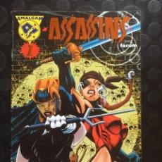 Fumetti: AMALGAM N.7 . ASSASSINS . SUICIDIO POLÍTICO . ( 1997 ). Lote 179078217