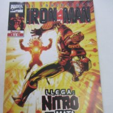 Cómics: IRON MAN VOL. 4 Nº 15 BUSOEK STERN LARROCA FORUM BUEN ESTADO CX26. Lote 179081673