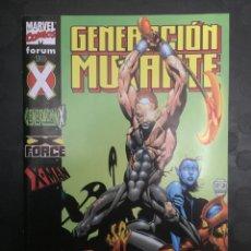Cómics: GENERACIÓN MUTANTE N.10 . GENERACIÓN X . X FORCE . X MAN . ( 2000/2002 ). Lote 179094143
