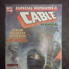 Cómics: ESPECIAL MUTANTES N.14 . CABLE ANNUAL 1999 .. Lote 179095285
